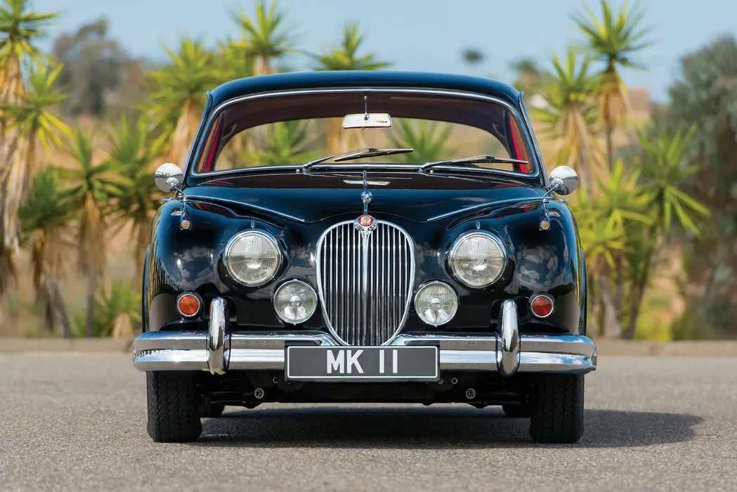 Jaguar Mark II — главный автомобиль британского бандитизма