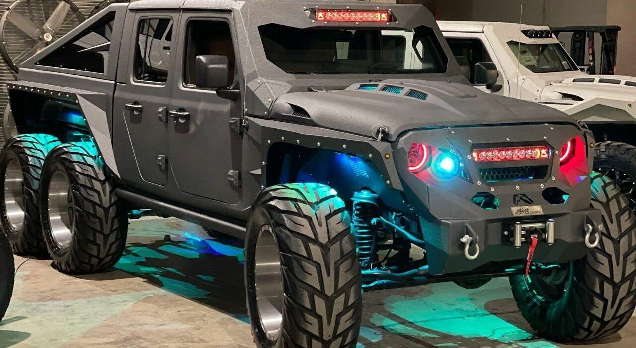 Jeep Apocolypse Hellfire 6×6 с двигателем V8