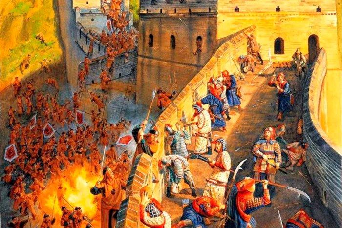 Почему Великая Китайская стена не остановила монголов и маньчжуров?