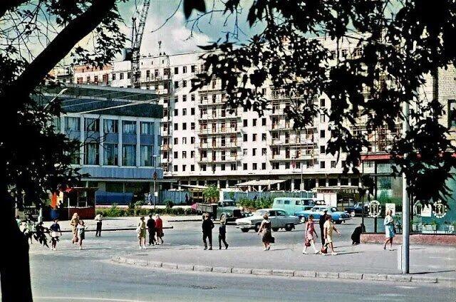 Старые фотографии Новосибирска начала 70-х годов