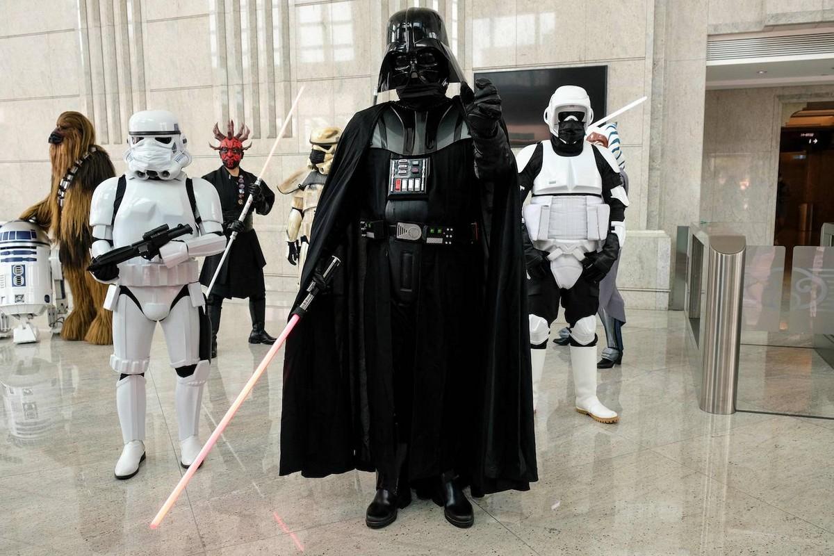 Как поклонники отметили день «Звёздных войн»
