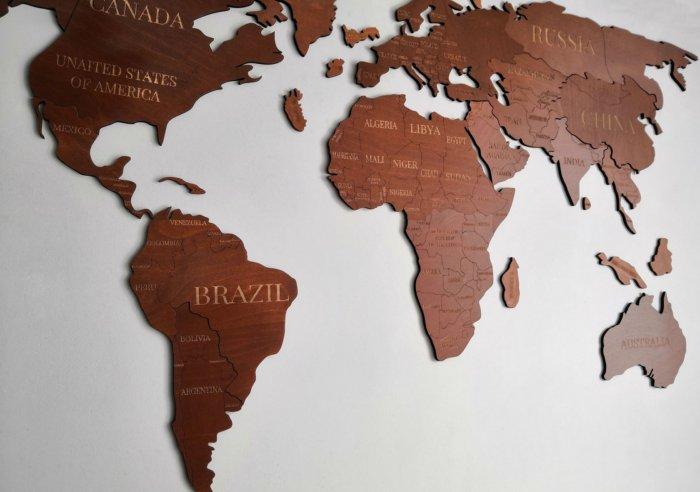 Почему Австралия почти целиком — пустыня, а Южная Америка нет?
