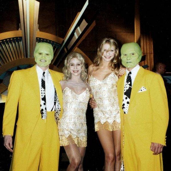 Закадровые снимки с известными актерами и их дублерами