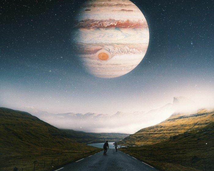 Что произойдет с Землей, если заменить Луну на Юпитер, Сатурн или Меркурий