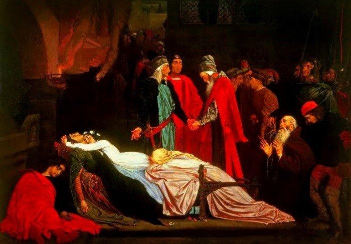 Из-за чего враждовали семьи Ромео и Джульетты?
