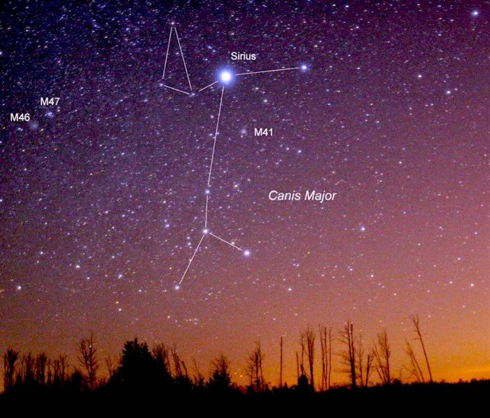 Как древнее созвездие было разрезано на части
