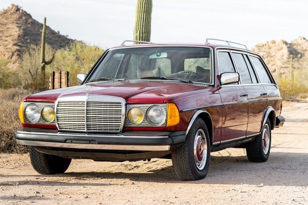 Универсал Mercedes-Benz с огромным пробегом выставили на продажу