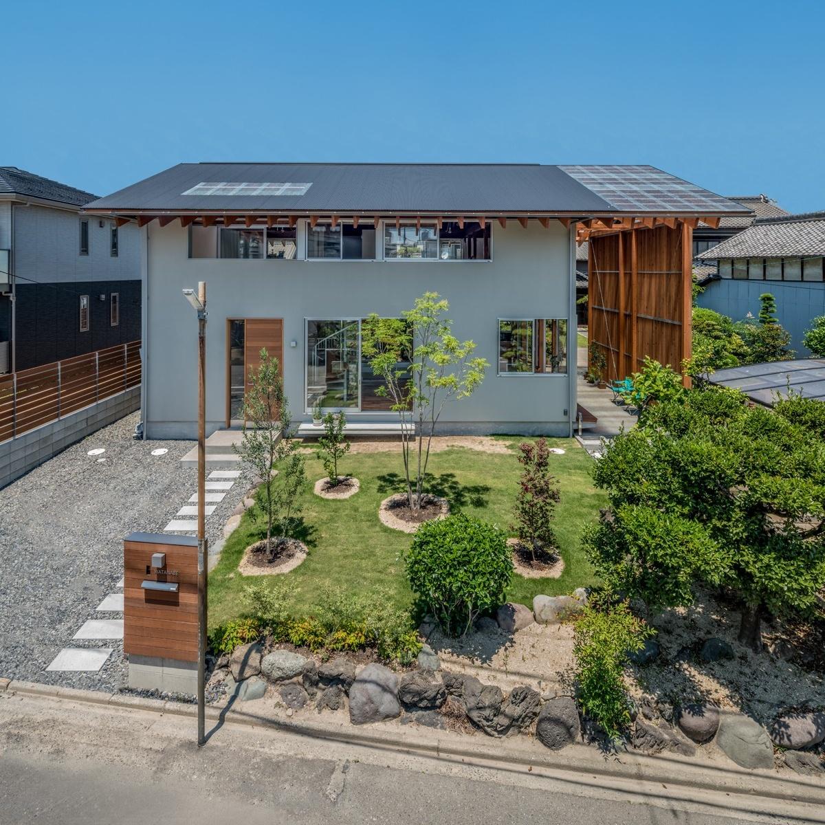 Уютный семейный дом с «Тори-мичи» в Японии