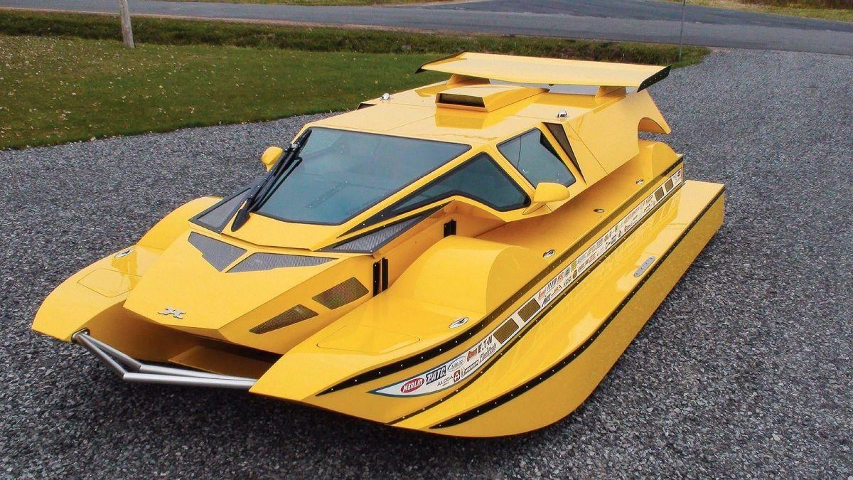 Амфибия HydroCar может путешествовать как по суше, так и по воде
