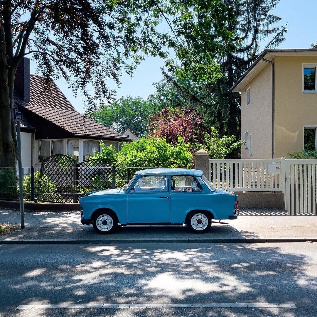 Автомобили немецких городов на снимках Грегора Клара