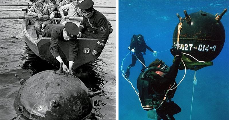 Для чего морским минам «рога» и опасно ли к ним прикасаться?