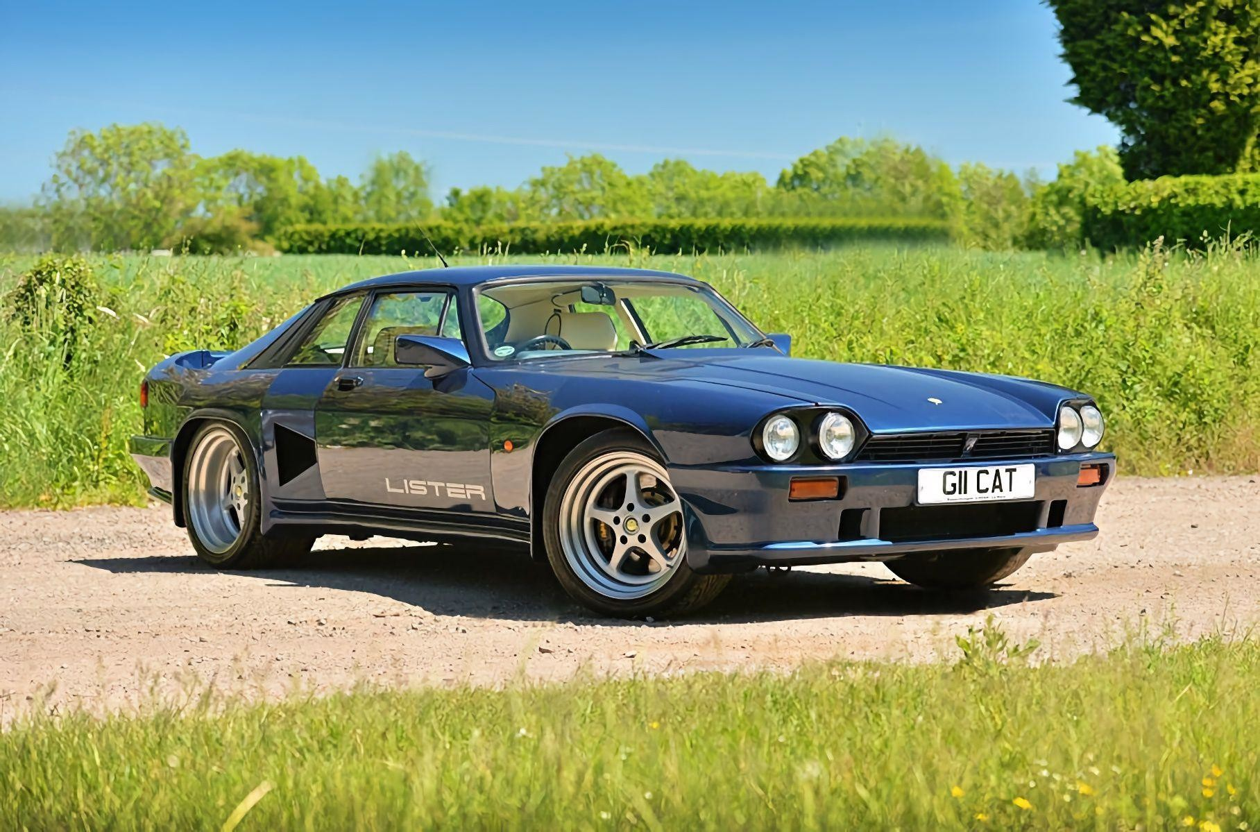 Экстремальный Lister Le Mans — это Jaguar XJ-S 1990 года