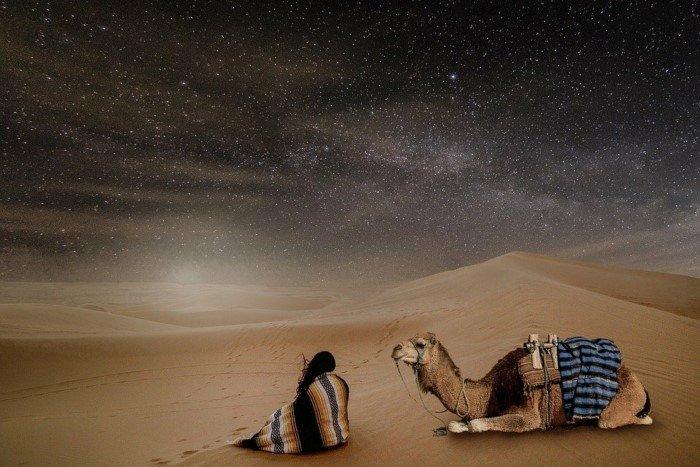 Почему в пустынях днём очень жарко, а по ночам очень холодно?