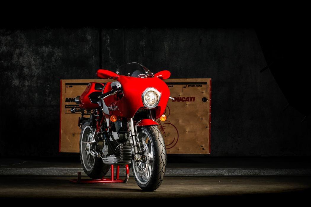Редкий Ducati MH900e 2002 года с заводской упаковкой