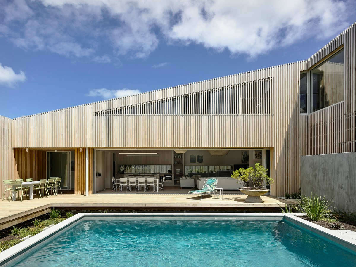 Резиденция для отдыха в японской стилистике в Австралии