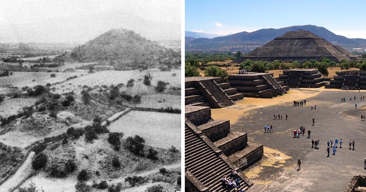 Знаменитые древнейшие постройки до и после их реконструкции