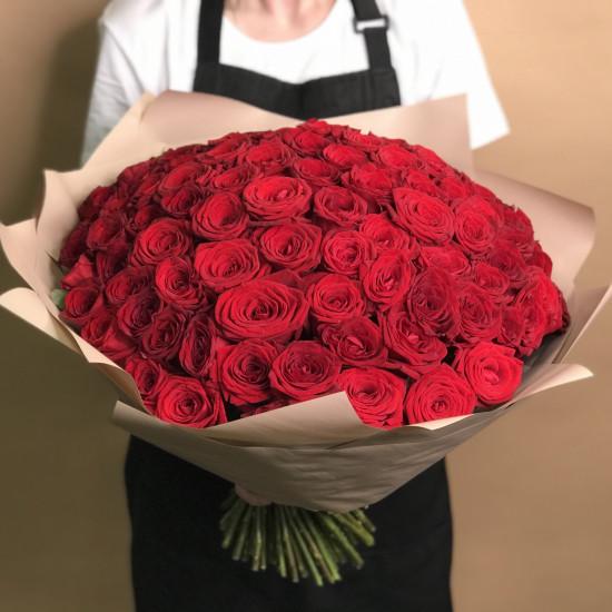 101 роза с доставкой в Москву