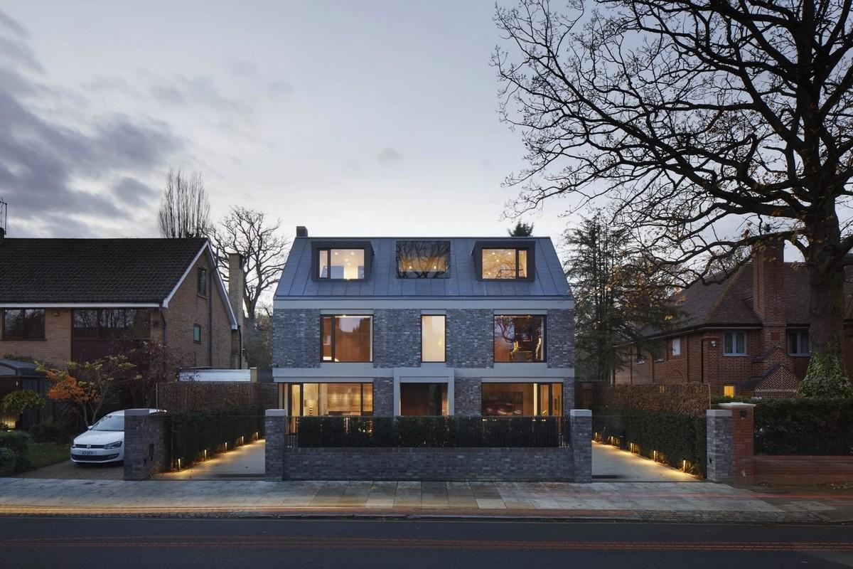 Частный дом для строителя в Лондоне