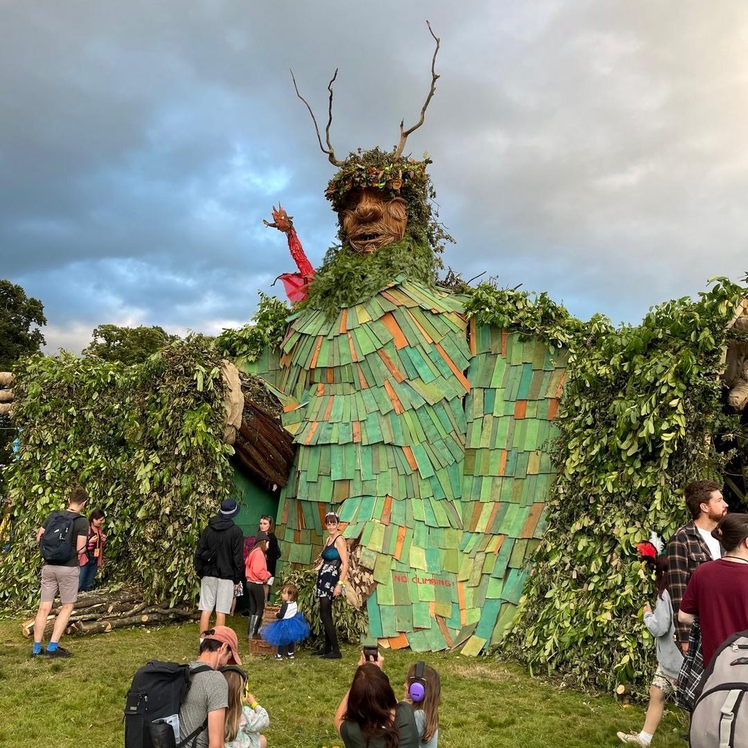 Фестиваль музыки и искусств Green Man Festival в Южном Уэльсе