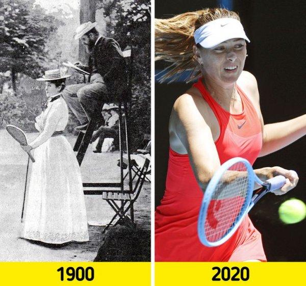 Как изменился мир спорта за столетие