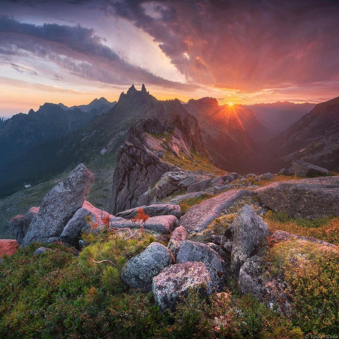Красота природы на снимках Вадима Гвона