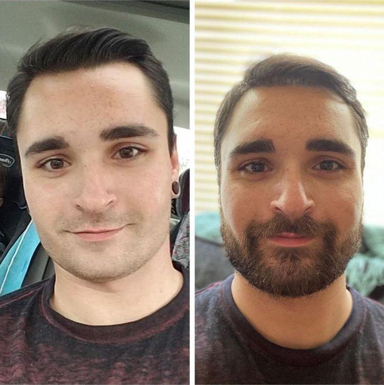 Снимки мужчин покажут, что усы и борода круто меняют внешность