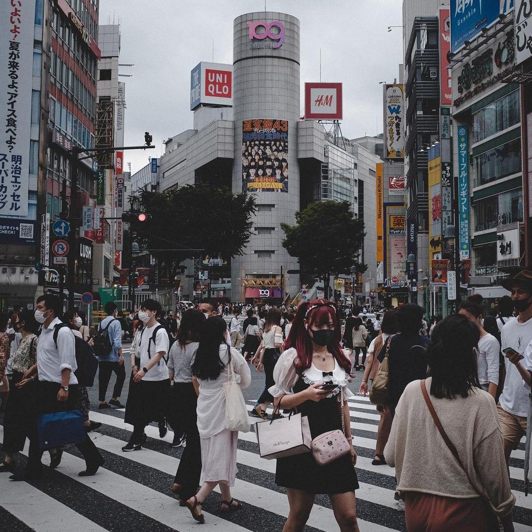 Уличные и городские пейзажи Японии от Хиро Гото