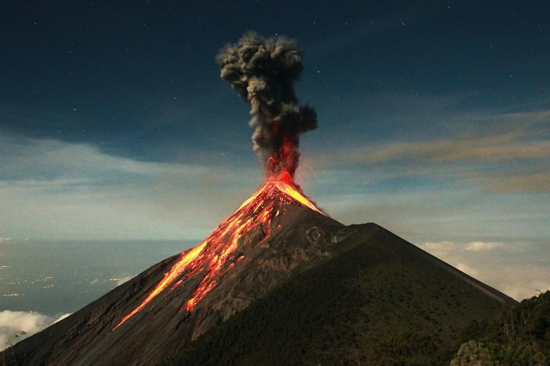 Крупнейшие извержения вулканов в истории нашей планеты