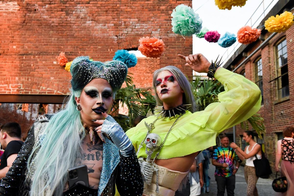 Крупнейший драг-фестиваль «Bushwig» прошел в Нью-Йорке