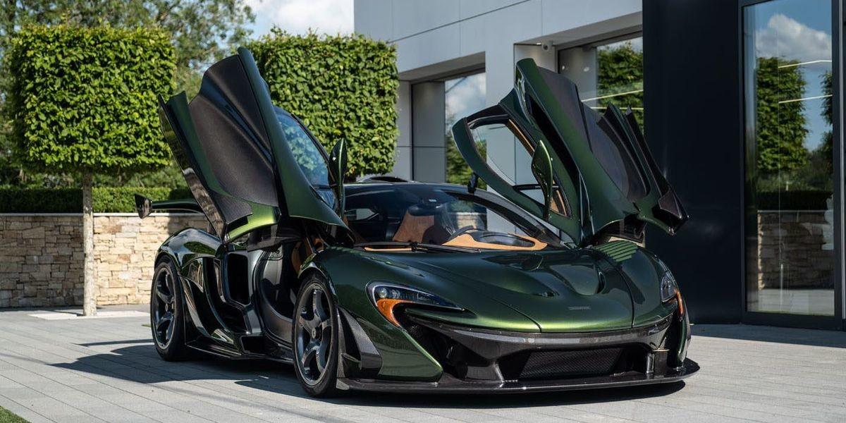 Особенный McLaren P1 HDK от британского ателье Lanzante
