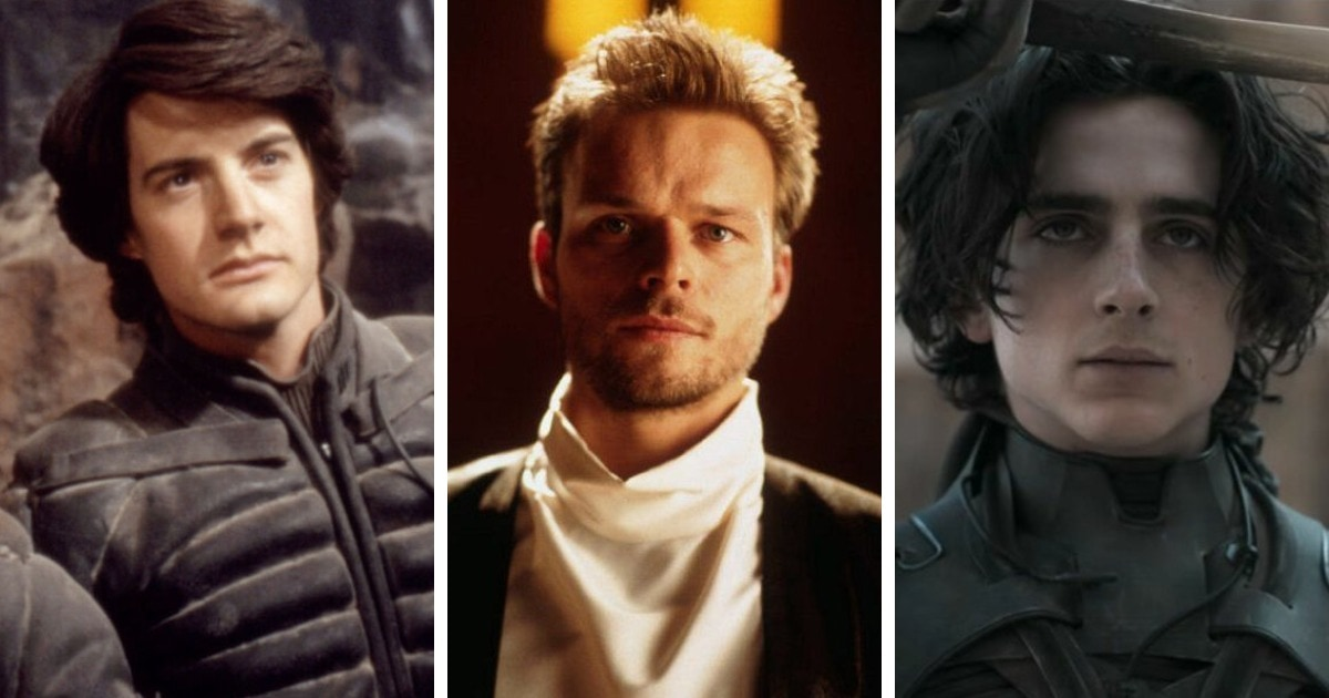 Персонажи «Дюны» в трёх разных экранизациях романа