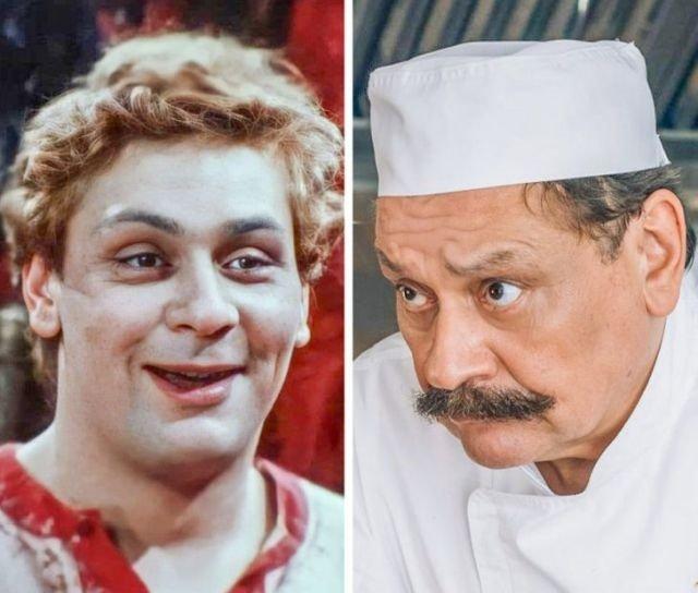 Снимки отечественных знаменитых актеров, которых мало кто помнит молодыми