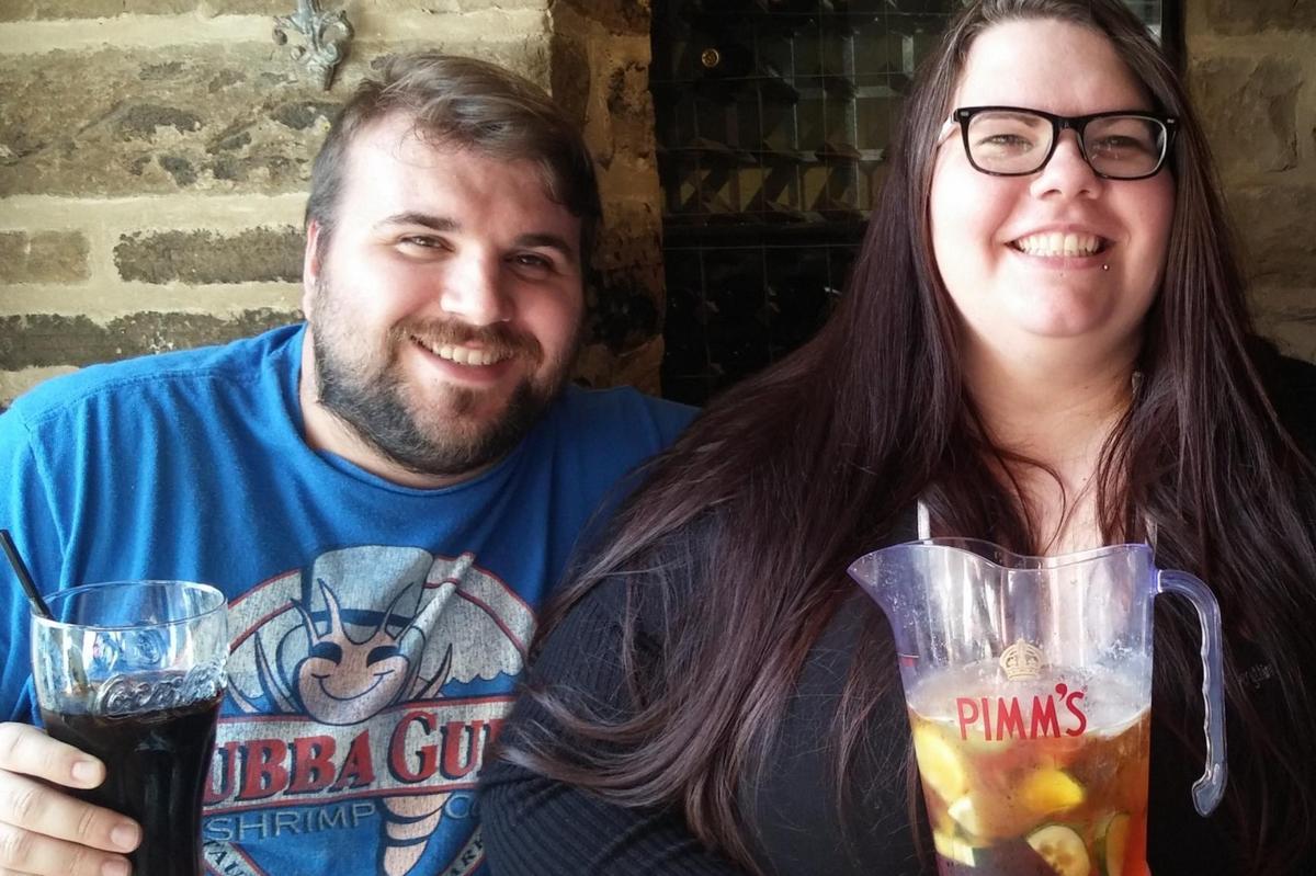 Влюбленные встречались 15 лет, а затем похудели и поженились