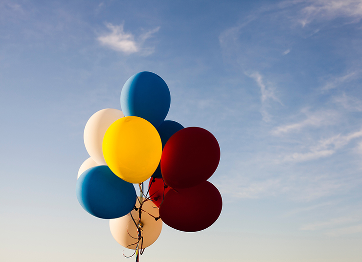 Воздушные шары: разноцветные композиции, которые заставят улыбнуться