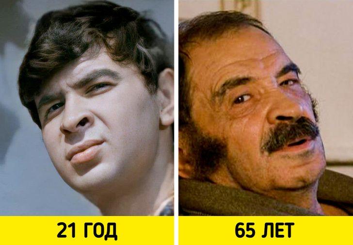 Отечественные знаменитости в молодости на снимках