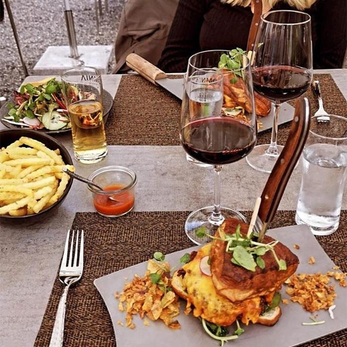 Разные примеры безбашенной подачи блюд