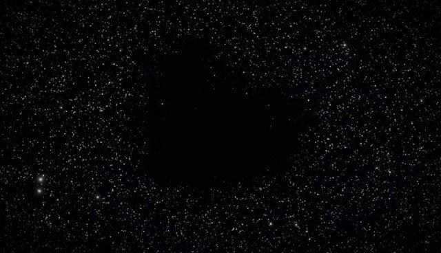 Самые пугающие места во Вселенной — космические пустоты