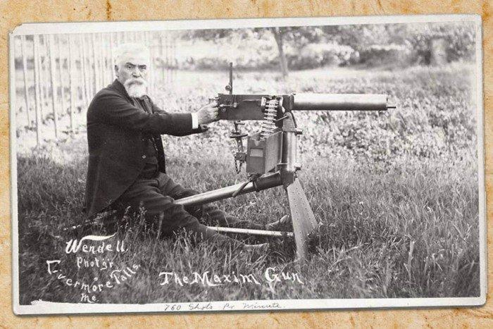Создатель пулемета «Максим» также придумал мышеловку и ингалятор